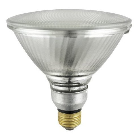Sylvania 14577 (6-Pack) 90-Watt Capsylite PAR38 Flood Light Halogen Reflector Light Bulb, 2925K, 1300 Lumens, E26 Base