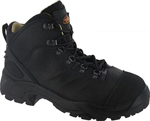 Triuso Sicherheit Schuhe S3Qualität bozen2Arbeit Schuhe mit Leder Futter 2Schichten 300° PU/nitrillaufsohle Gap GR. 38