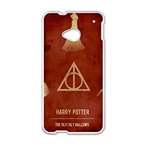 Deathly Hallows HTC One M7 Cell Phone Case White present pp001_9639183