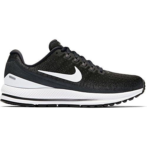 NIKE Women's Air Zoom Vomero 13 Black/White/Anthracite Running Shoe 9 Women US by NIKE