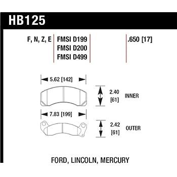 Hawk Performance HB100G.480 Disc Brake Pad