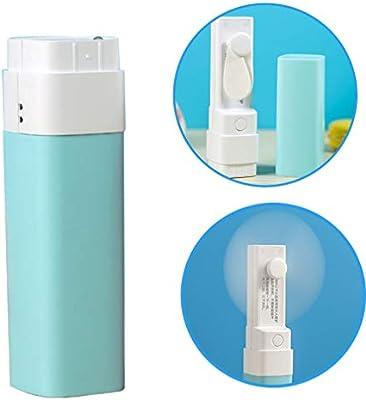 Haolv Mini Ventilador de Mano Banco de energía de Emergencia ...