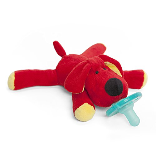 - WubbaNub Infant Pacifier - Red Dog