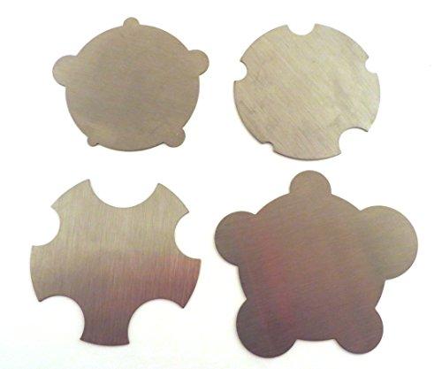Garlick Flinn UK Concave Convex 4 Piece Cabinet Scraper Set ()