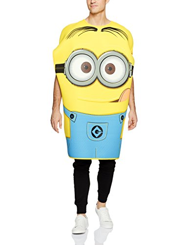 Despicable Me Characters Costumes (Rubie's Costume Despicable Me 2 Foam Tunic Carl Dave, Blue/Yellow, Standard Costume)