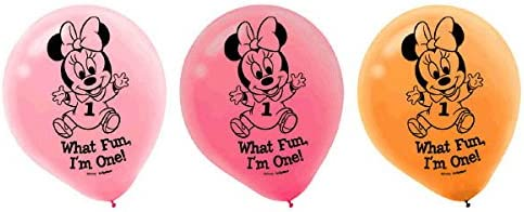 Amazon.com: Amscan Disney primera fiesta de cumpleaños ...