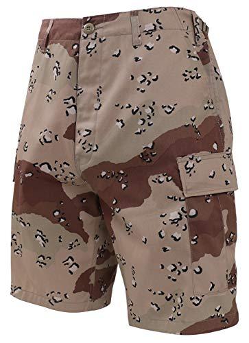 (Rothco Camo BDU Shorts, 6-Color Desert Camo, 2X)
