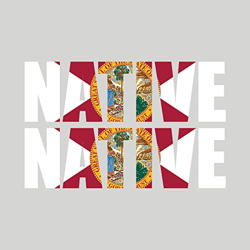 - Two Pack Florida Native Sticker FA Graphix Vinyl Decal FL pride