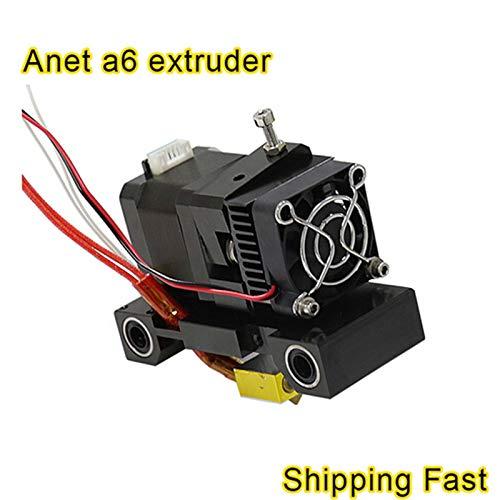 Anet A6 Extrusora Cabeza de impresión 3D MK8 Cabeza única J Cabeza ...