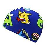 MALLOOM Swim Cap for 2-6 Years Children Kids Boy Girl Cartoon Waterproof Swimming Sports Hat