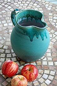 Half Gallon Pitcher in Turquoise