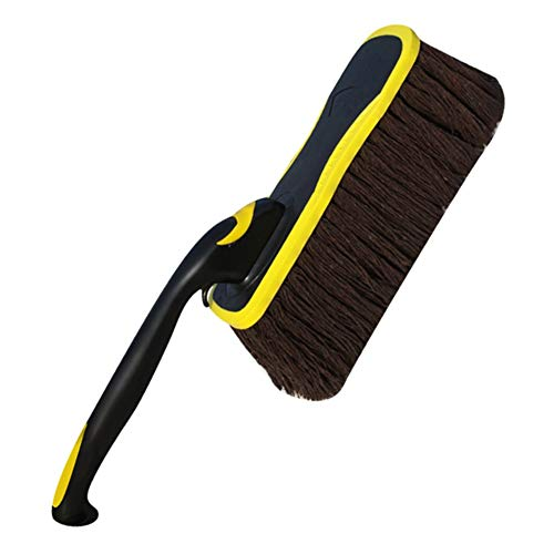 Auto Accessories Car Wash Mop Dust Scorpion Wiping Artifact Wax Dragging Fur Ash Brush Cleaning Tools (Color : Yellow)