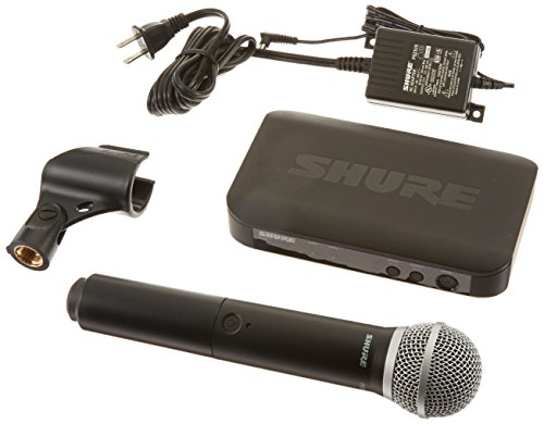 Shure BLX24/PG58 Handheld Wireless System with PG58 Vocal Microphone, H10