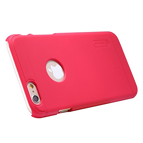 (HS-TOP  ® NILLKIN case cover super gefrostet Schild Matte Conque Slim Hülle Back Protective cover für Apple iPhone 6 (4.7 Zoll), Rot
