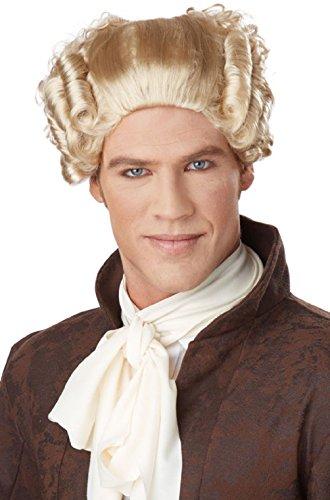 Masquerade Costumes 18th Century (18th Century Peruke Colonial British Judge Costume Wig)