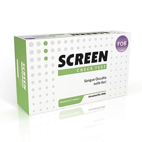 Test para la detector del sangre occulto Nelle Feci, dispositivo médico de diagnóstico Vitro: Amazon.es: Salud y cuidado personal