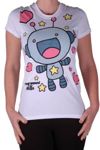 Cosmic - Camiseta - Manga corta - para mujer blanco
