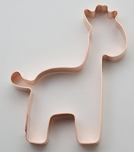 Giraffe Cookie Cutter<br>Copper<br>4 Inches