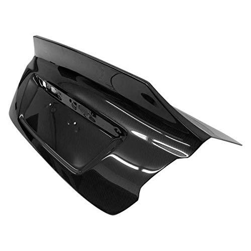 (VIS Racing (VIS-CUW-372) SS Style Trunk Carbon Fiber - Compatible for Subaru WRX 2015-2016 (2015 2016 | 15 16))