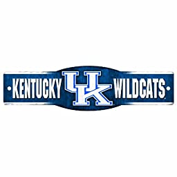 NCAA Kentucky Wildcats 4.5-by-17 Inch Sign