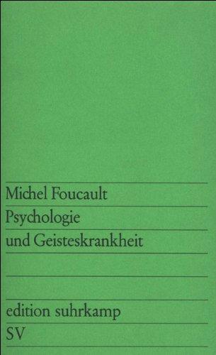 Psychologie und Geisteskrankheit (edition suhrkamp)