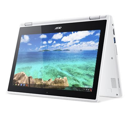 2018 Acer Refurbished Convertible 2-in-1 Chromebook-11.6″ HD IPS Touchscreen, Intel Celeron Quad-Core Processor Up to 2.24Ghz, 4GB RAM, 32GB SSD, HDMI, WiFi,Chrome OS-(Certified Refurbished)