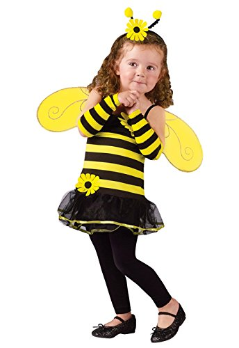 Honey Bee Kids Costume - Toddler Small - Honey Bee Child Costumes