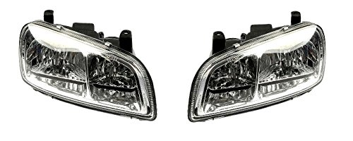 98 99 00 Toyota Rav4 Headlight Headlamp Pair Set Driver and Passenger (Toyota Rav4 Driver Headlight)