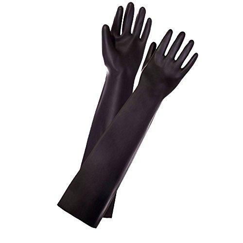 Long Black Latex Gloves Fetish Fisting S Buy Online In Gibraltar At Desertcart