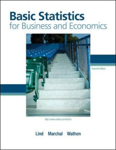 Book cover from Basic Statistics for Business and Economics with Formula Card (The Mcgraw-hill/Irwin Series Operations and Decision Sciences) by Douglas Lind