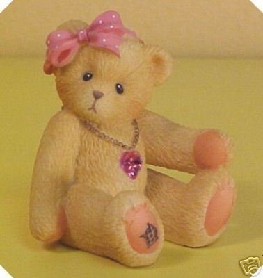 Cherished Teddies Little Sparkles Birthstone Bear October