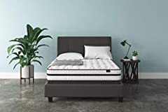 Why worry when you can chime? With the Sierra Sleep Chime hybrid innerspring queen mattress, you have endless possibilities for restful sleep. You get the best of both worlds—the pressure relief of cooling gel-infused memory foam, coupled wit...