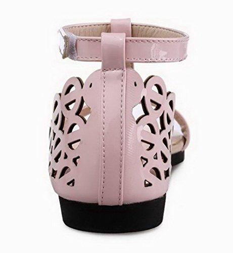 Agoolar Agoolar Cuir Velcro Cuir Femme Pu Femme Velcro Pu qw1TvT