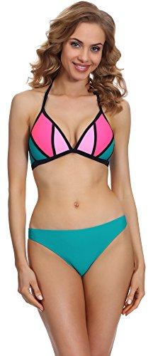 Merry Style Bikini Conjunto para mujer Set P613-63TSG Patrón-4