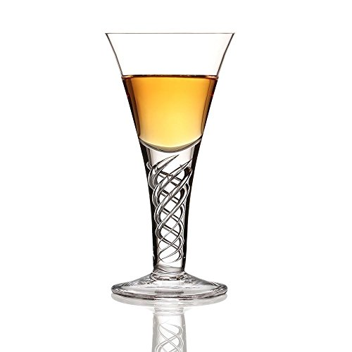 Burns Crystal The Jacobite Dram Whisky Toasting Glass 2 floz
