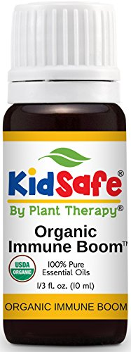 Plant Therapy Kidsafe Immune Boom Organic Synergy Essential Oil 10 Ml  1 3 Oz  100  Pure  Undiluted  Therapeutic Grade