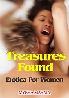 TREASURES FOUND (Erotika For Women, erotic romance) by [Marnia N, Mysha]