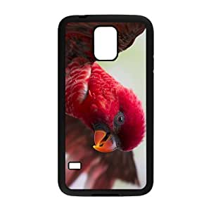 Red Parrot Hight Quality Plastic Case for Samsung Galaxy S5