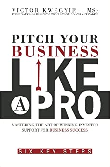 Book Pitch Your Business Like a Pro: Mastering The Art of Winning Investor Support for Business Success: Six key steps