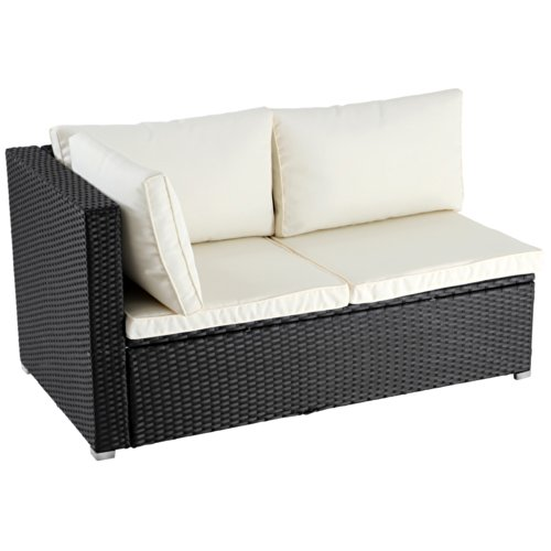 rattan ecksofa balkon. Black Bedroom Furniture Sets. Home Design Ideas