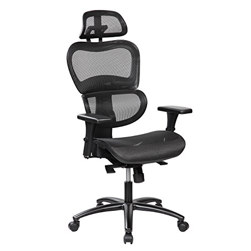 Techni Mobili RTA-5004-BK Rta-5004-Bk Office Chair, Black