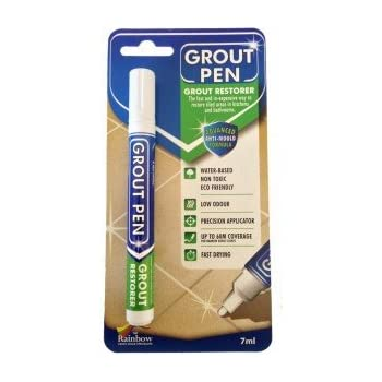 Grout Pen White - Ideal to Restore the Look of Tile Grout Lines