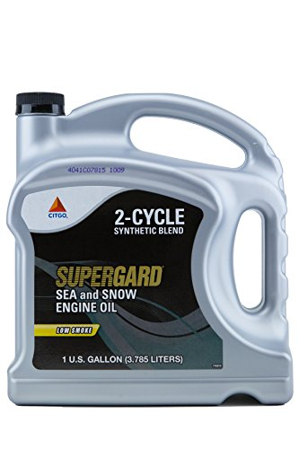 Citgo CITSSEA-04 Supergard Motor Oil, 1 gallon, 4 Pack (Sea & Snow)