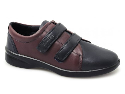 Revive - Zapatos de cordones Navy/Bordeaux