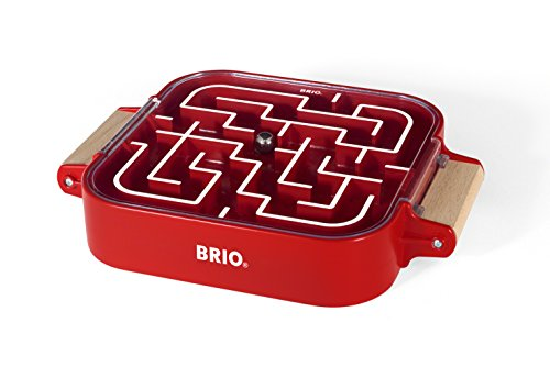 BRIO 34100 Labyrinth Take Along, Red