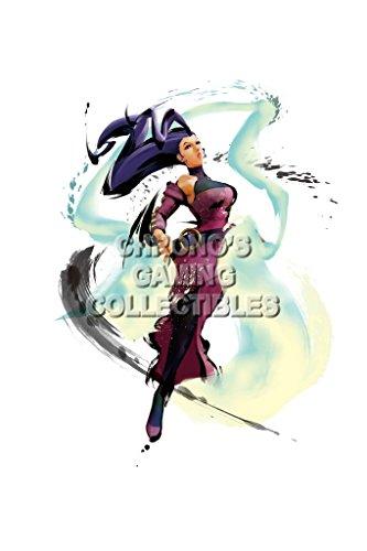- Street Fighter IV CGC Huge Poster Glossy Finish Rose - STR055 (24