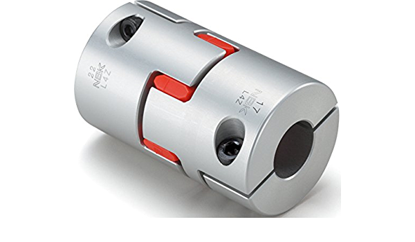 Set Screw Type NBK MJC-65-GR-19-35 Jaw Flexible Coupling 19 mm and 35 mm Bore Diameter A2017 Aluminum
