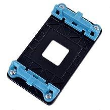 uxcell® Plastic AM2 AM2+ AM3 AM3+ FM1 socket AMD CPU Cooling Fan Bracket Base Blue