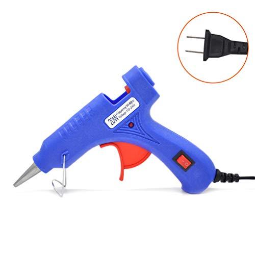Hot Glue Gun 20W 100-240V Professional Moderate Temp Mini Electric Hot Melt Glue Gun Suitable for Crafts - - Moderate Mini