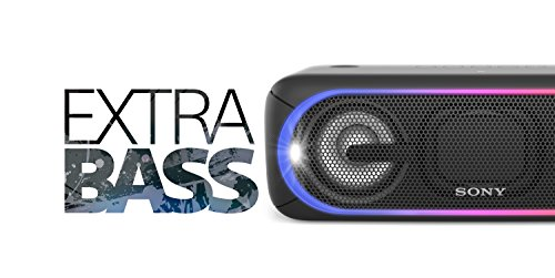 Sony XB40 Portable Wireless Speaker with Bluetooth and Speaker Lights, Black (2017 model) by Sony (Image #9)